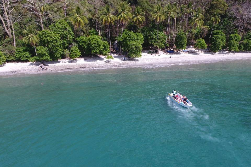 Sealounge Catamaran & Playa Fantasia Costa Rica