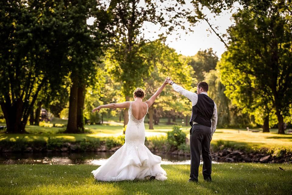 Countryside wedding - Jane Wiggins Photography