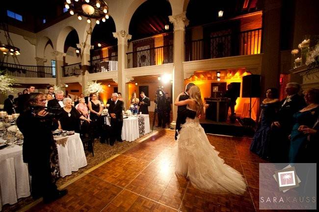 Couple wedding dance