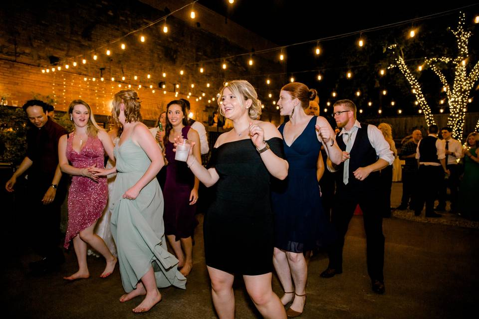 Keeping the dance floor busy