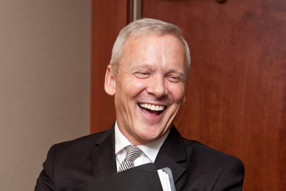 JP having a laugh