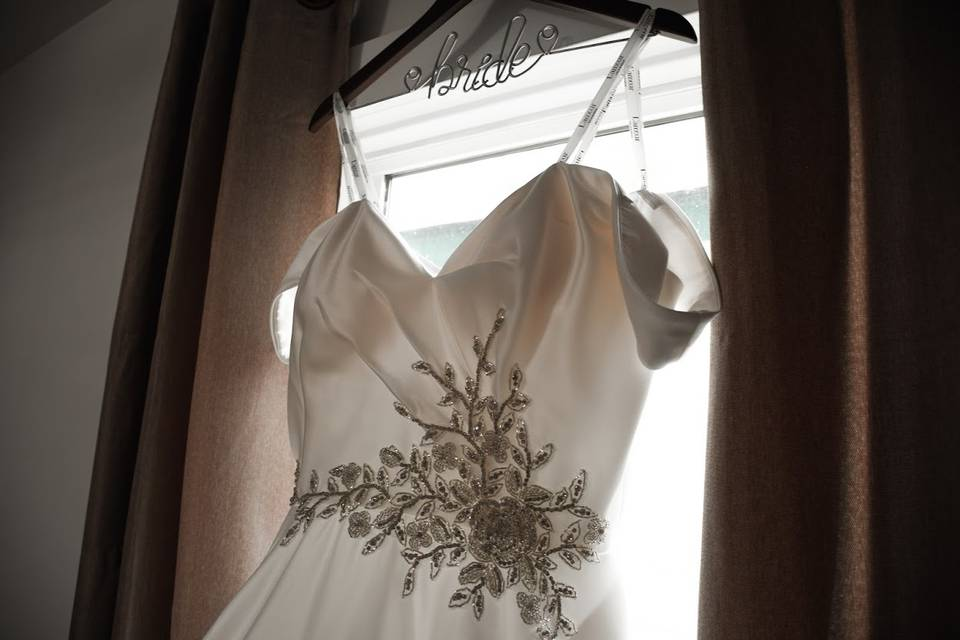 Wedding dress dream