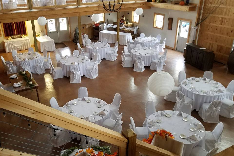 Fall wedding 2nd floor