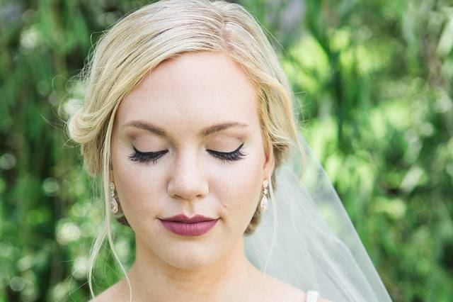 Makeup and custom lashes