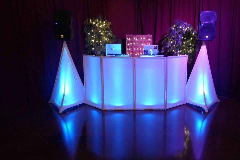 Standard wedding setup