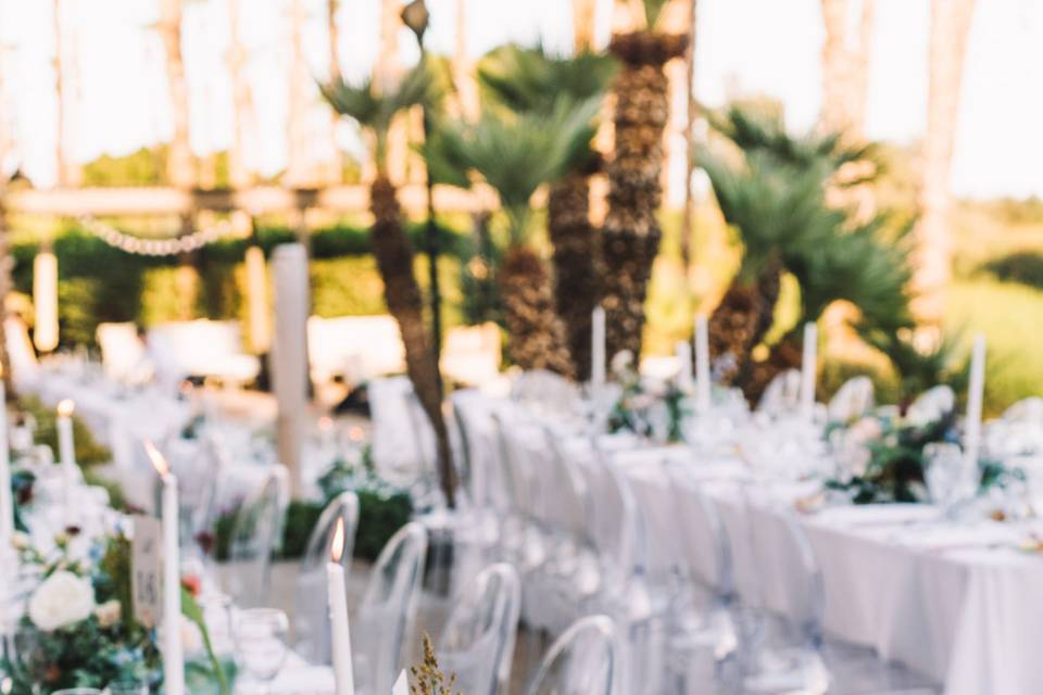 A gorgeous table setting