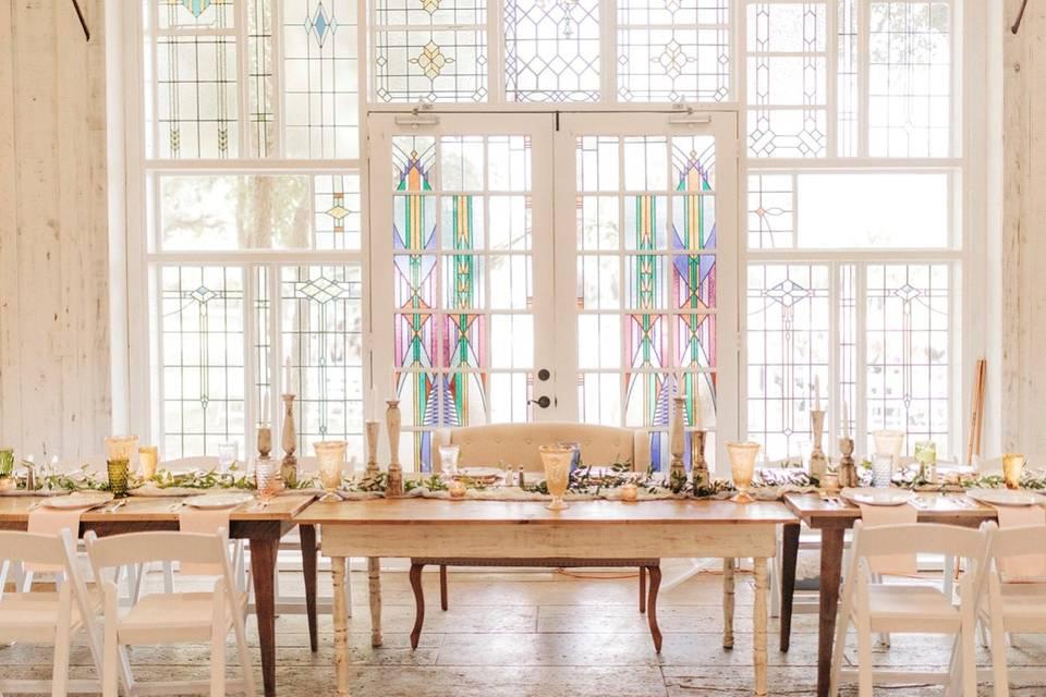 Reception - Head Table