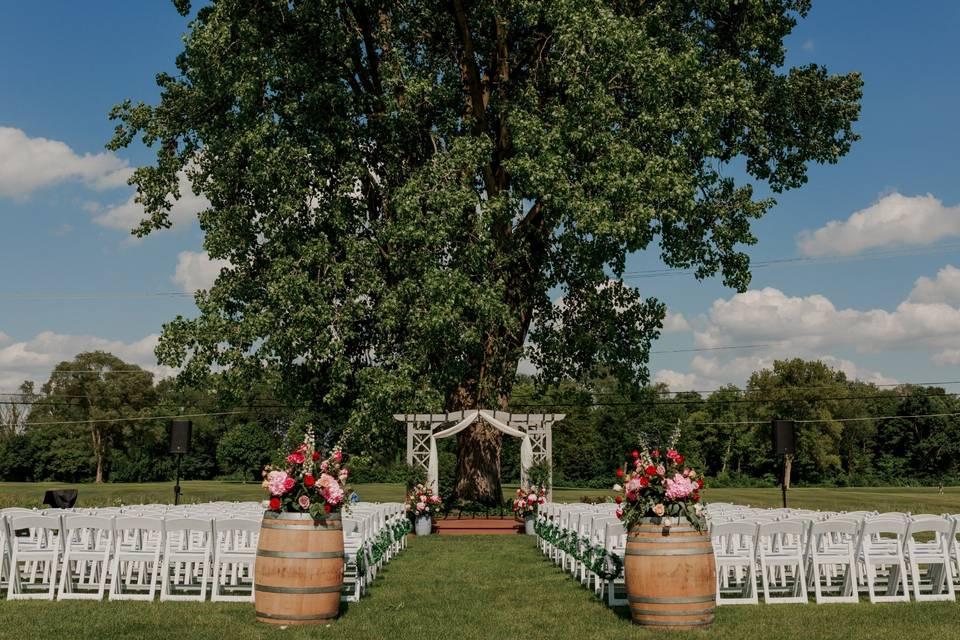 Summerhouse Ceremony