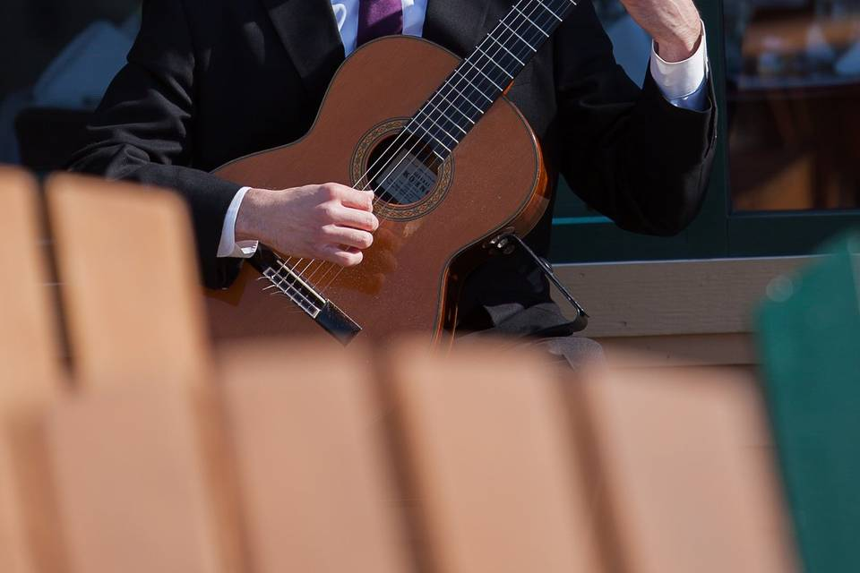 Plucking the strings