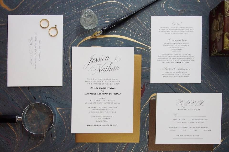 Becky J. Invitations