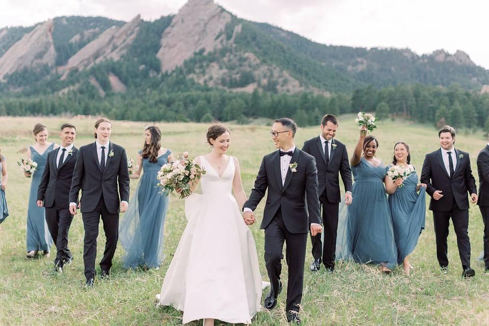 Boulder Wedding Day