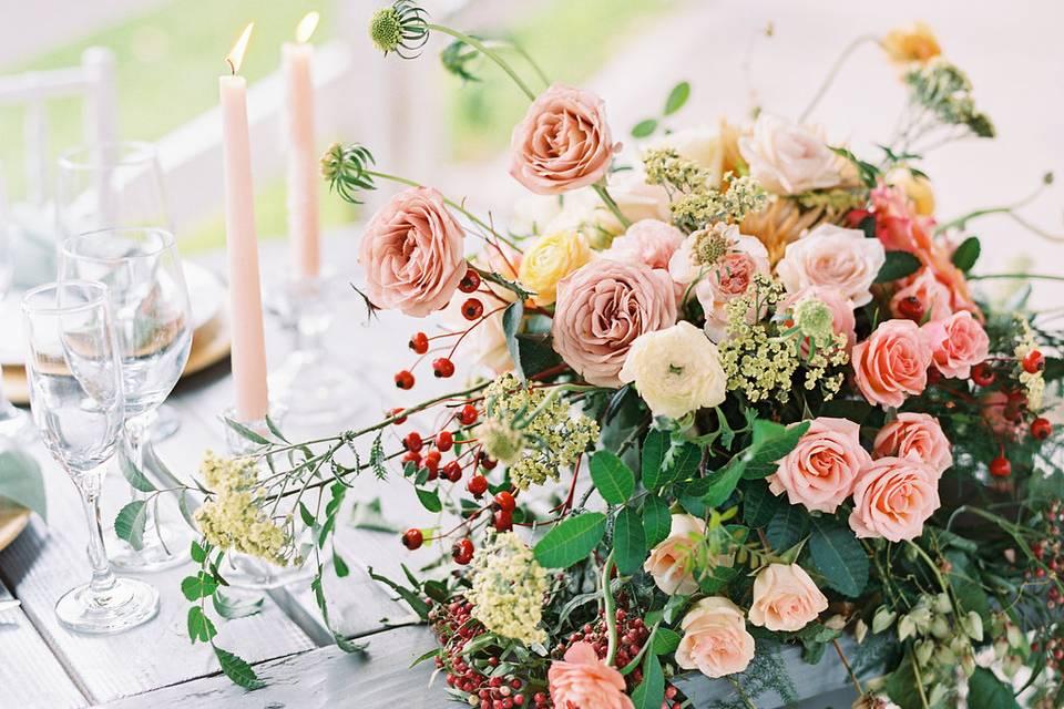Garden Gate Flowers