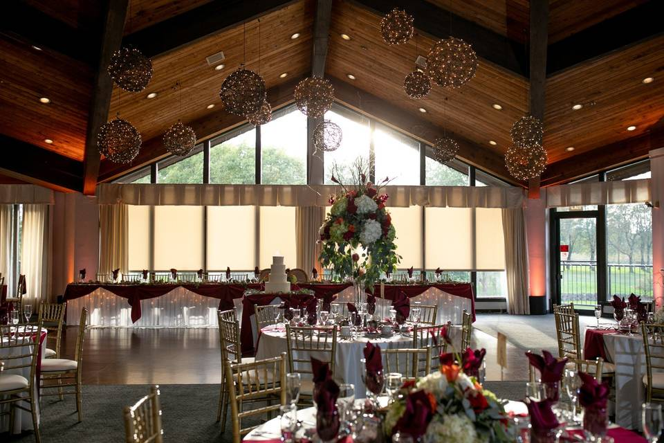 View of Head Table