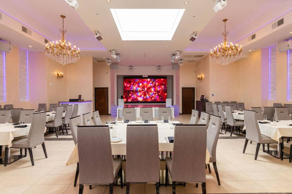 The Grand Palace Event Hall at Bexley Premier Restaurant