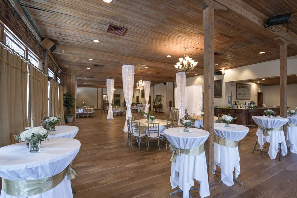 An elegant reception setup