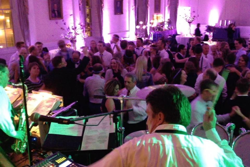 Packed dance floor Hibernian