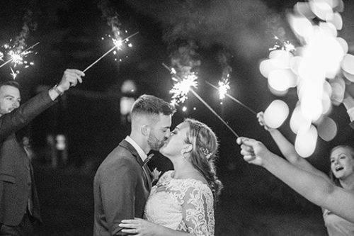 Wedding Couple Send-off