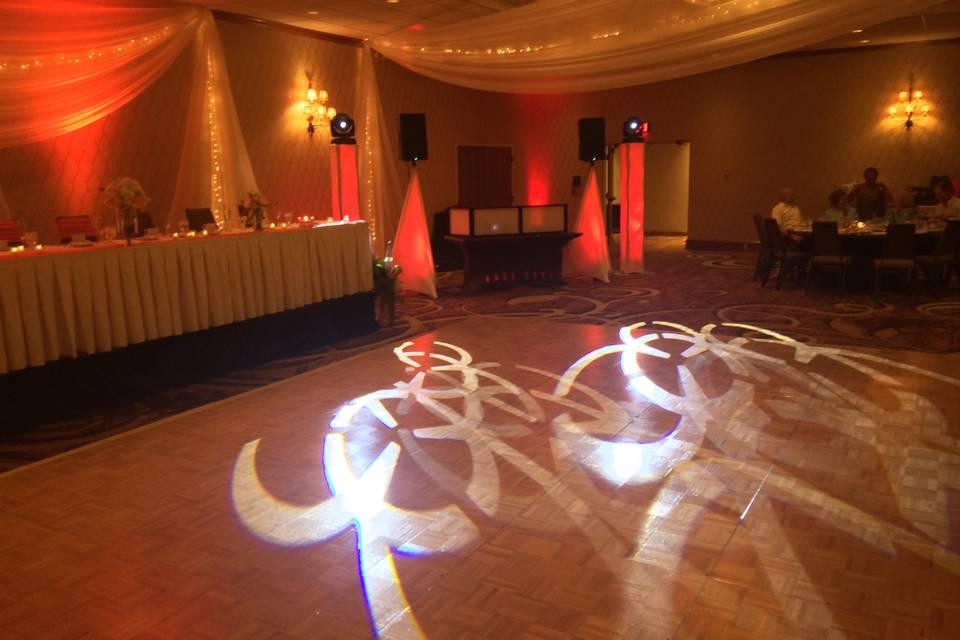 SLE Elegant Wedding Setup