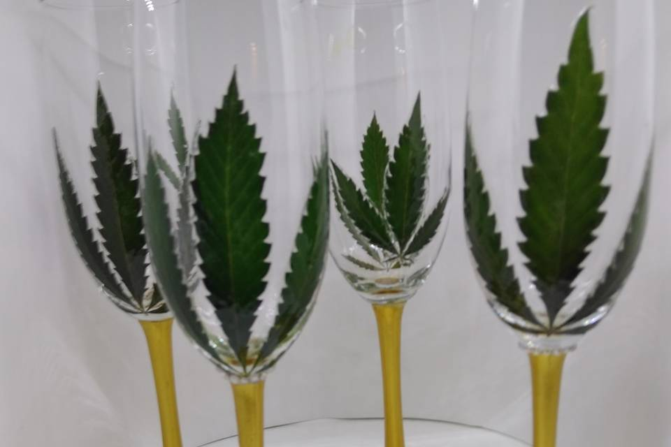 The Golden Cannabis collection