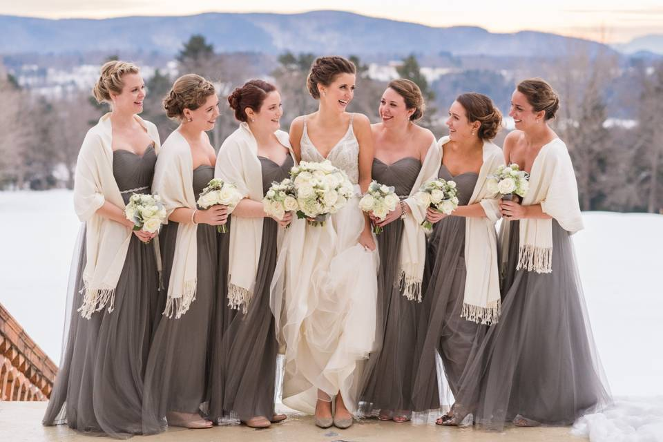 Friends of the bride