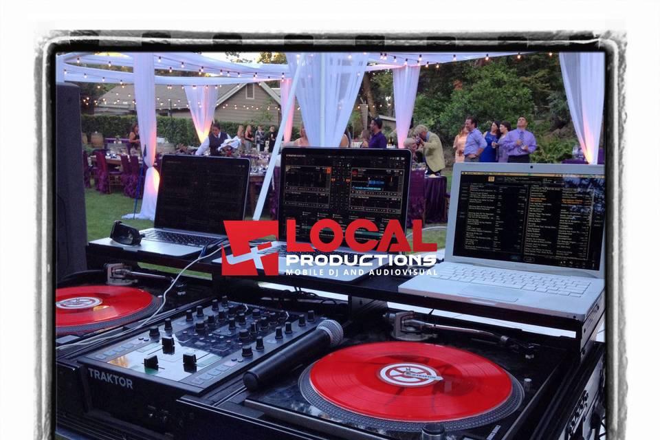 Local Productions Mobile DJ & Audiovisual