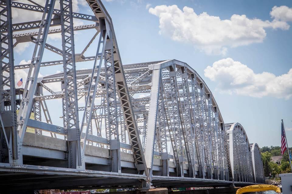 Bridge right next to Sonny's.