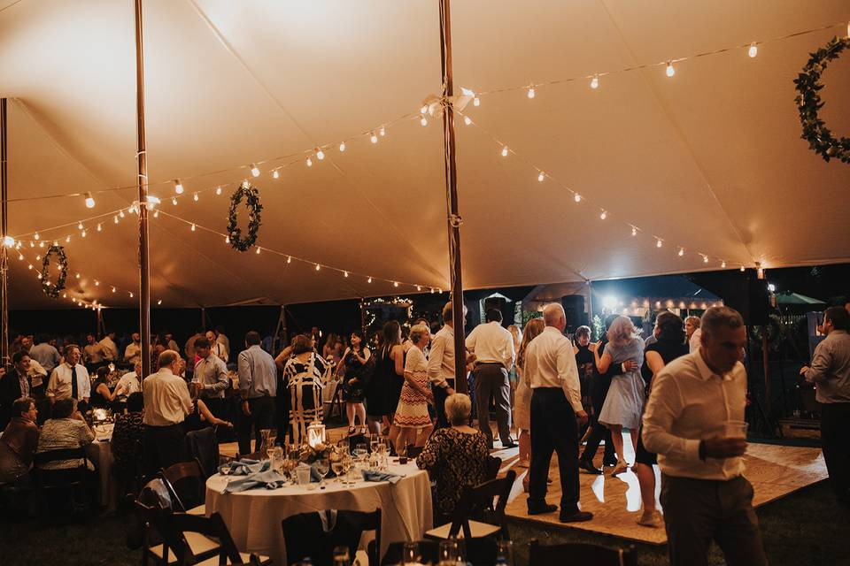 Tented Wedding