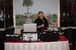 Jeff in the Ballroom