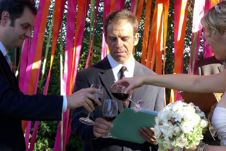 Wine ceremony