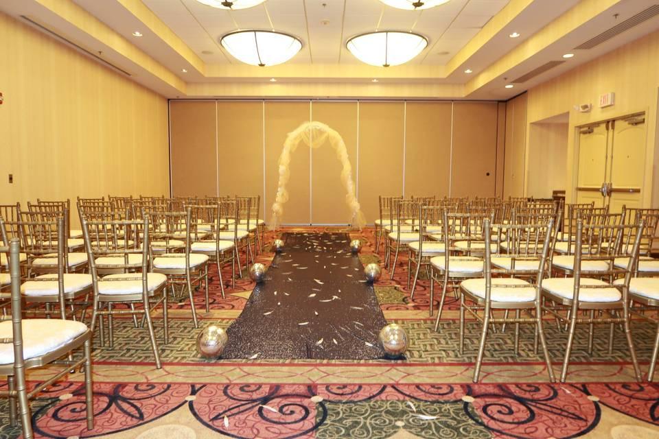 Tuscany Ballroom Ceremony