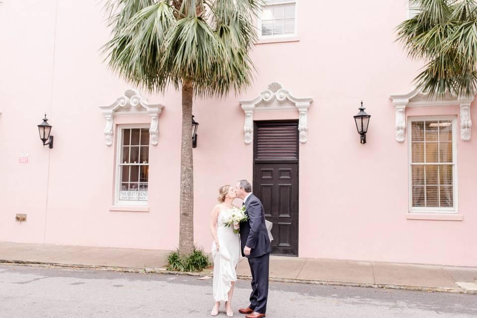 Charleston destination wedding