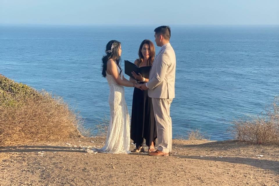 Another seaside wedding