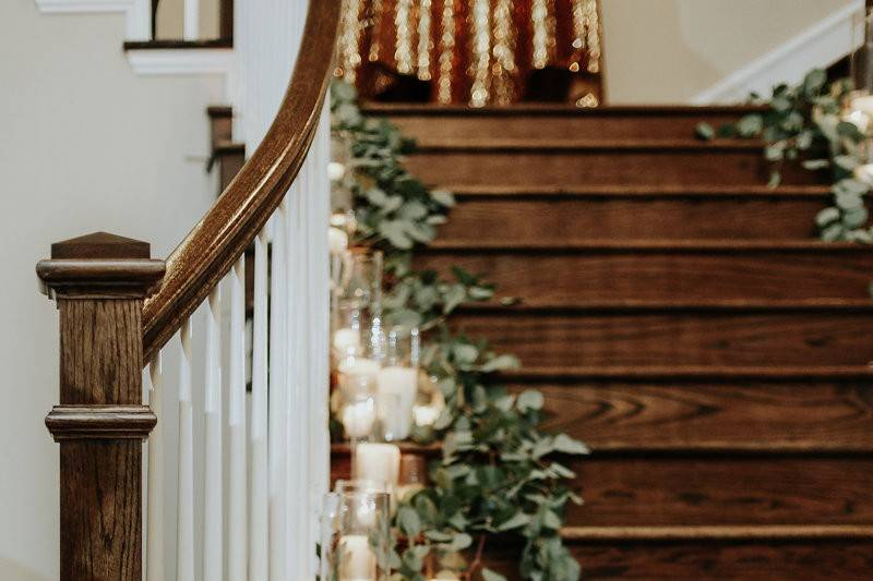 Candlelit Stairway
