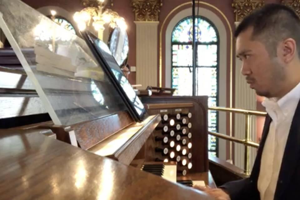 Wedding organ music