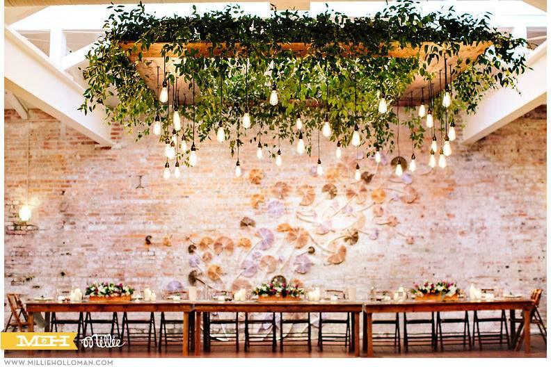 Leafy ceilings