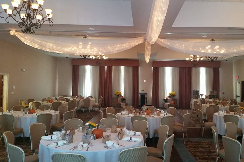 The Ballroom at the Comfort Suites Cicero