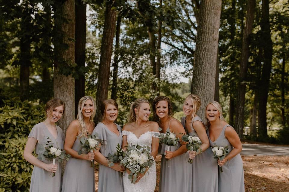 Bridesmaids by Amanda Morais