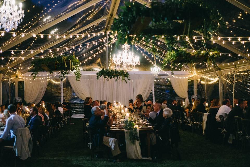 Evening Reception Glow