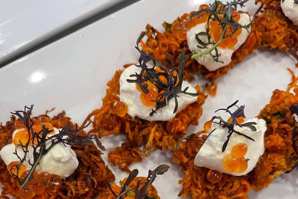 Artful displays of culinary creations