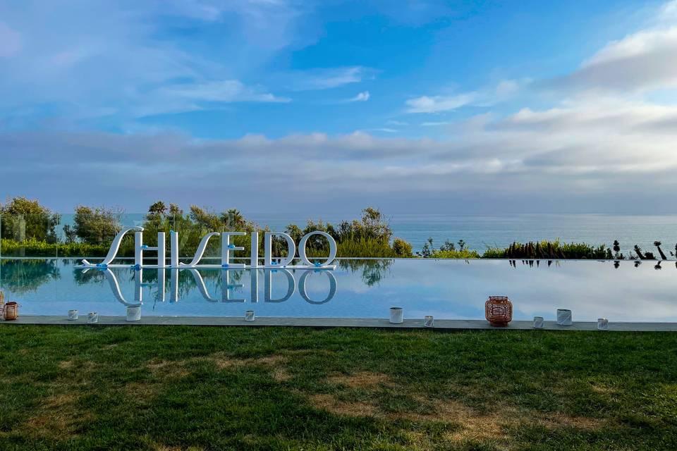 Shiseido Event at Malibu