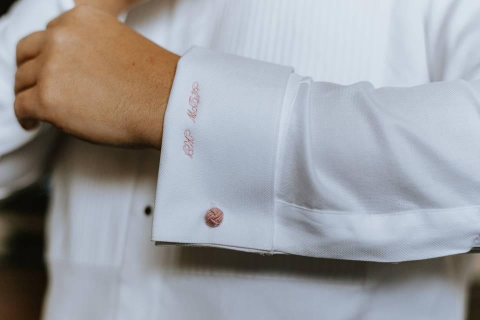 Monogram your shirt