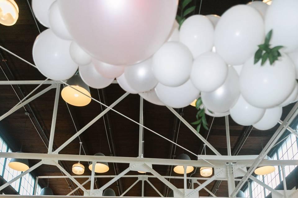 Balloon décor