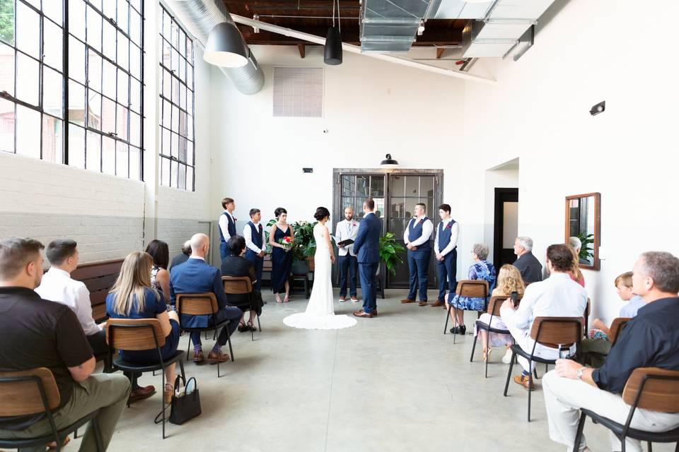 Atrium ceremony