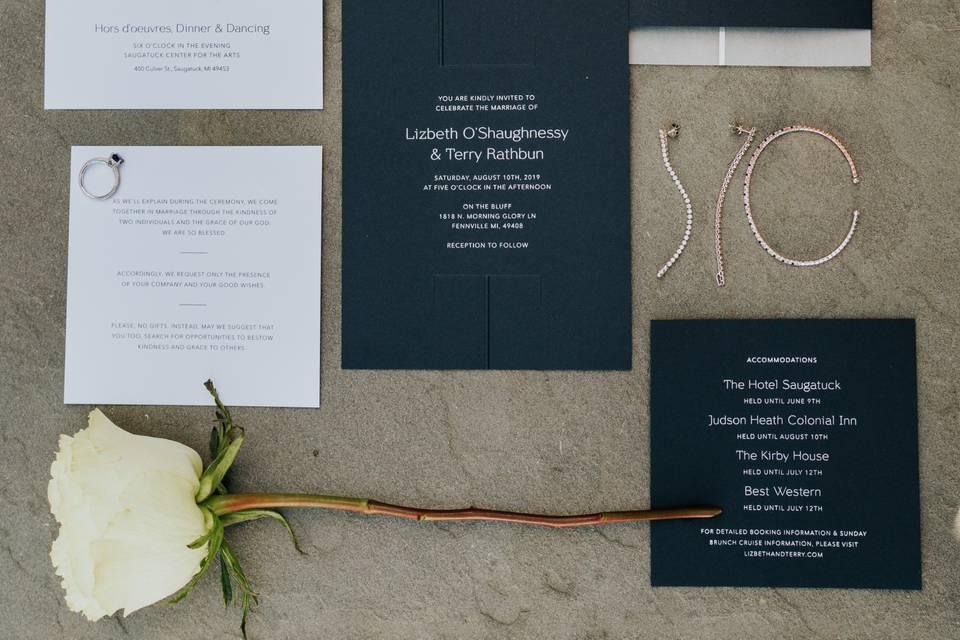 Invitations - Jamie & Sarah Photography