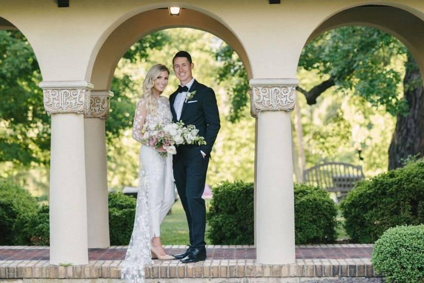Historic mansion wedding venue