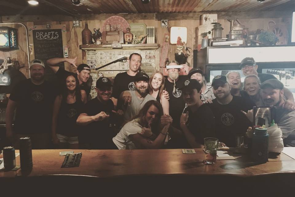 JB's fun crew ready for you!