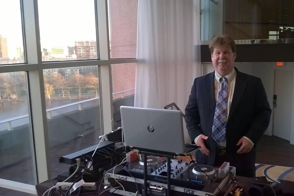Frank the DJ at the Hyatt