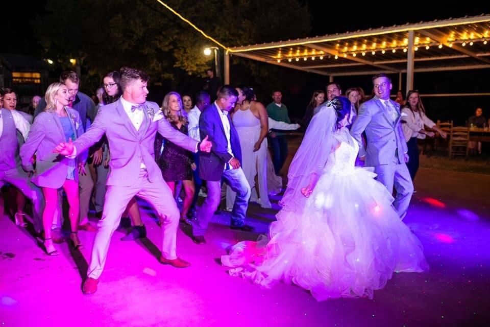 Douglas wedding