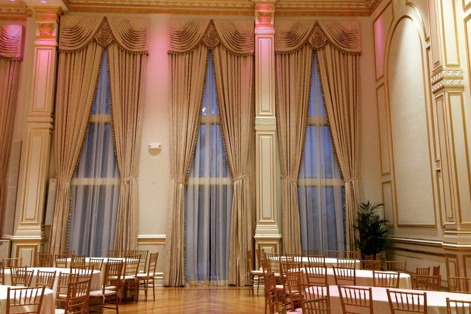 Reception with ambiance