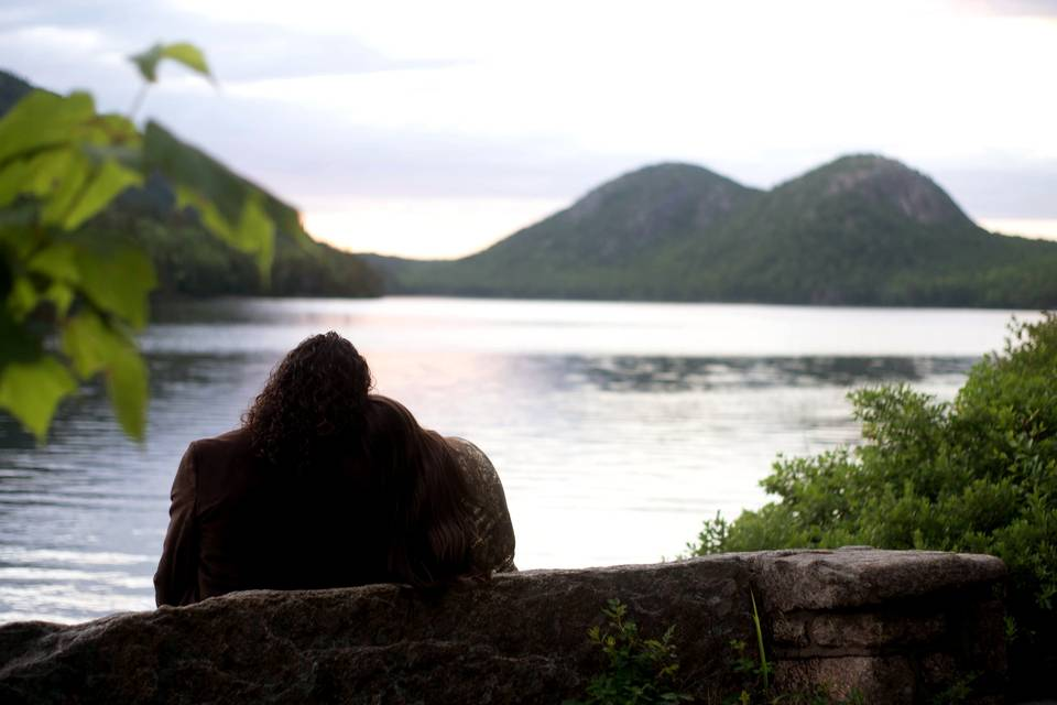 Elopement by the water